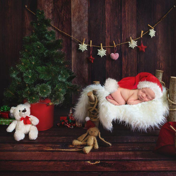 Christmas Newborn Digital Backdrops
