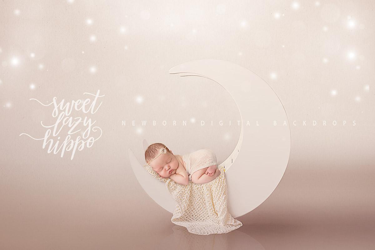 2 newborn digital backdrops